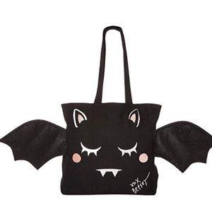 Betsey Johnson Bat Wings Tote Bag NWT